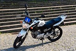 Motociclo categoria A1/A2