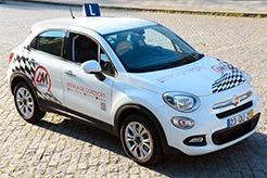 Veículo de instrução ligeiro Fiat 500X categoria B
