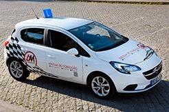 Veículo de instrução ligeiro Opel Corsa categoria B